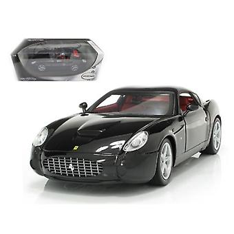 Ferrari 575 Gtz Zagato Negro 1/18 Diecast Modelo Coche Por Ruedas Calientes