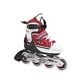 CABEZA de cool de adj. rojo inline Skate - junior