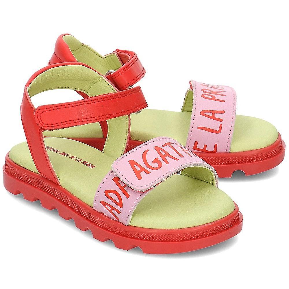 Agatha Ruiz De La Prada 192945 192945arojoymist2932 Universal Summer Kids Shoes