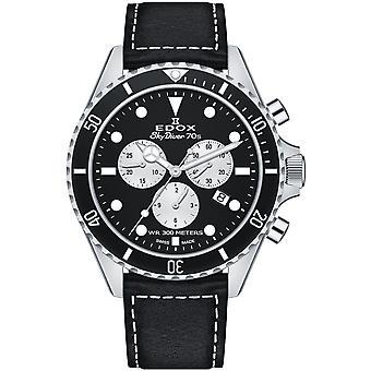 Edox 10238 3NC NIA Skydiver Men's Watch