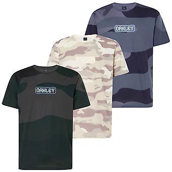 Oakley Miesten Numero Camo Lyhythihainen Kevyt T-paita