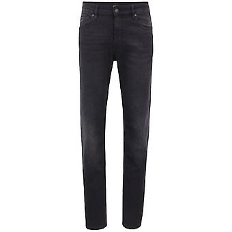 Boss Orange Boss 50 Albany BC-P Cold Black Washed Stretch Jeans 004 50394304