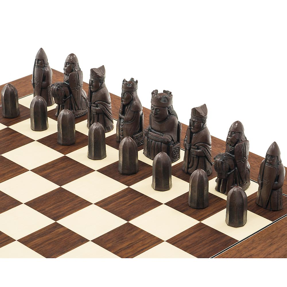Berkeley Chess Isle of Lewis Second Edition Russet Chess Men