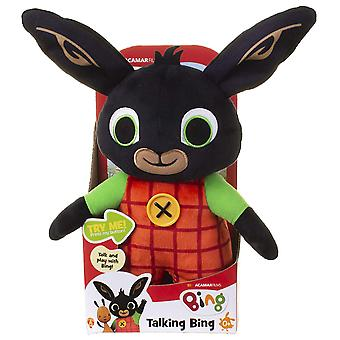 Bing Talking Bing Soft Toy 30cm With 15 Phrases Ages 0+