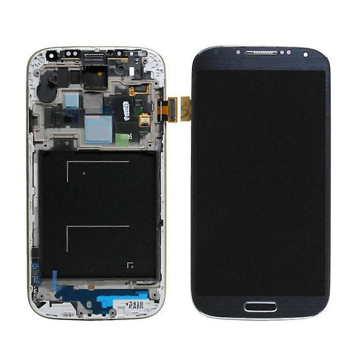 Stuff Certified® Samsung I9500 Galaxy S4 screen (Touchscreen + AMOLED + Parts) AAA + Quality - Blue / Black / White