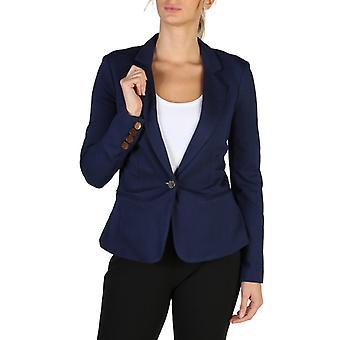 Guess women's blazer blue w83n18