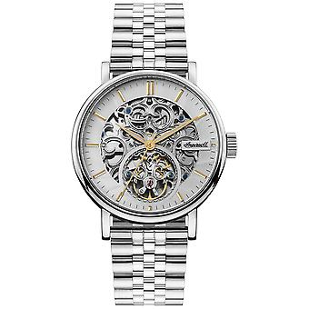 Charles Automatic Analog Man Watch with I05803 Stainless Steel Bracelet