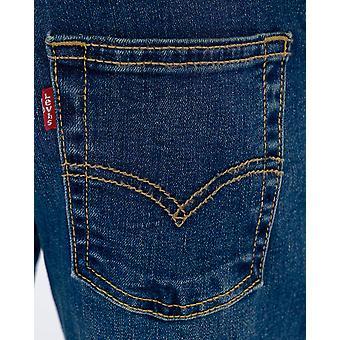 Levi's Boys' Little 511 Slim Fit Performance Jeans, Evans Blue, 7