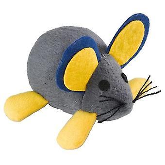 Ferplast Pa 5007 Stoffmaus mit Feder (Katzen , Spielzeug , Spielmäuse )
