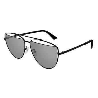 MCQ MQ0157S 001 Black/Grey Mirror Sunglasses