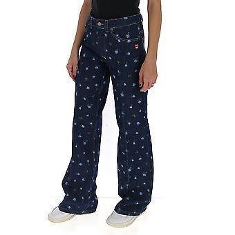 Marc Jacobs D4000010460 Donne's Jeans di cotone blu