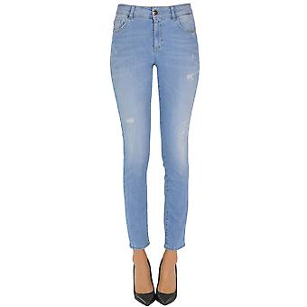 Nenette Ezgl266057 Women's Light Blue Cotton Jeans