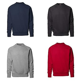 ID Mens Exclusive Regular Fitting Long Sleeve Sweatshirt/Jumper