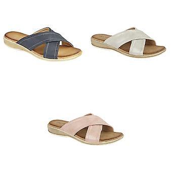 Cipriata dames/dames Noemi crossover mule sandalen