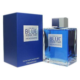 Blue seduction for men by antonio banderas 6.75 oz eau de toilette spray