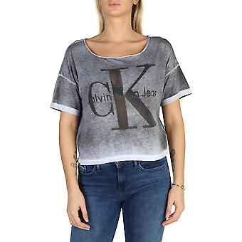 Calvin Klein Original Women All Year T-Shirt - Couleur grise 38191