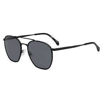 Hugo Boss 1090/S 003/IR Matta musta/harmaa aurinkolasit