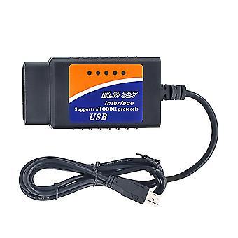 ELM327/ELM 327/OBD2 Lecteur de code d'erreur DE diagnostic de voiture USB