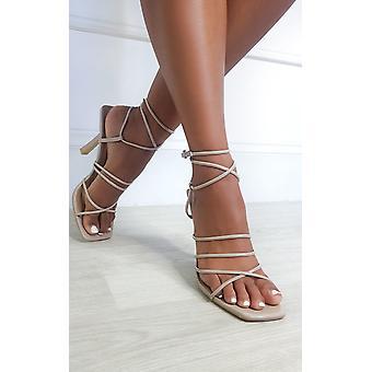 IKRUSH Damen Rosinah Strappy High Heels