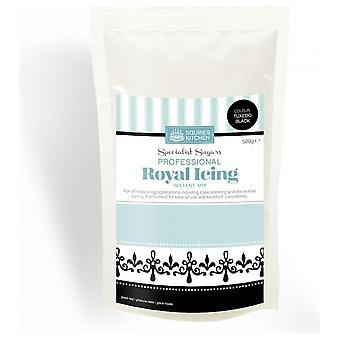 Squires Kitchen Professional Royal Icing Instant Mix 500g ‰ÛÒ Tuxedo Black