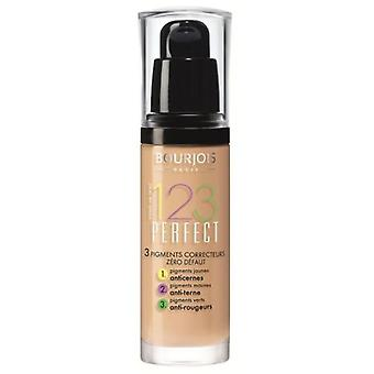 Bourjois Paris 123 Perfect Base de Maquillaje Tono 53 Light Bej 112 gr