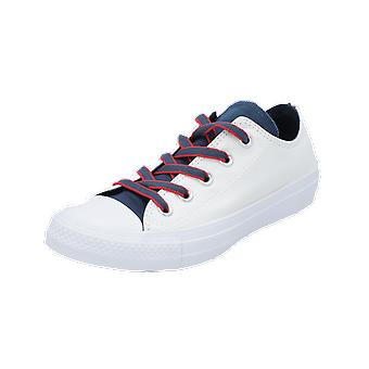 Converse CHUCK TAYLOR ALL STAR - OX - COURT PREP BLOCK women's men's sneakers white