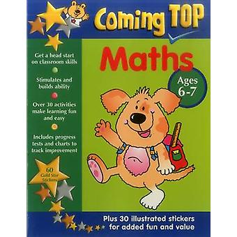 Coming Top - Maths - Ages 6-7 - 60 Gold Star Stickers - Plus 30 Illustr