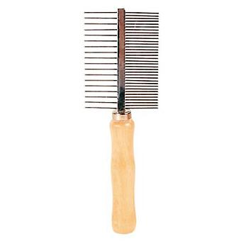 Trixie Comb, Double Face, Thin And Thick, 17 Cm