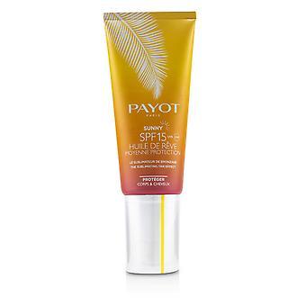 Sunny spf 15 medium skydd sublimating solbränna effekt för kropp & hår 243208 100ml/3.3oz