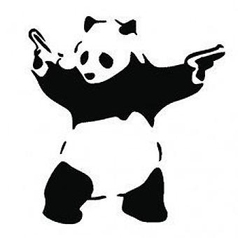 GNG Banksy Bad Panda Graffiti Funny Symbol Bumper Sticker Car Van Bike Sticker decal stickers