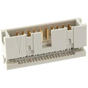 econ anslut WSK40G Pin strip ingen ejektor Kontaktavstånd: 2,54 mm Totalt antal stift: 40 Nej. rader: 2 1 st fack