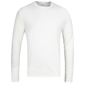 NN07 Clive 3323 Waffle Sweater - Off White