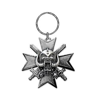 Motorhead Keyring Keychain Bad Magic Band Logo warpig new Official