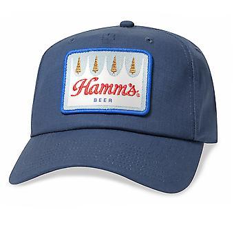 Hamm's Beer Logo Patch Blue Hat
