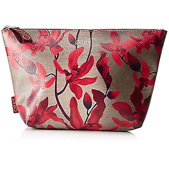 Oilily Jolly Cosmeticpouch Lhz 1 - Women Rot Day Clutch (Dark Red) 9x23x38.5 cm (B x H T)
