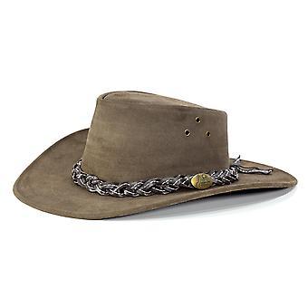 Jacaru 1007 wallaroo suede hat