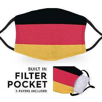 Bandera de Alemania - Máscaras faciales para niños