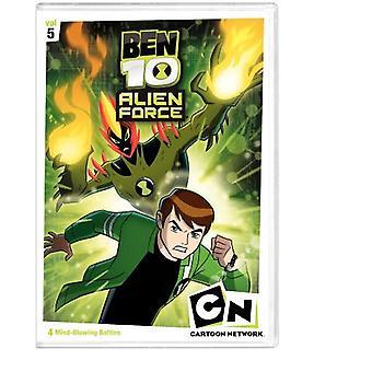 Ben 10 Alien Force Vol. 5 [DVD] USA importerer