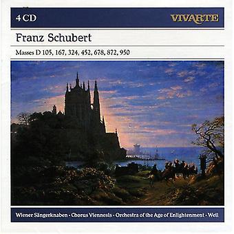 Wiener Sangerknaben-Orchestra of the a - Franz Schubert: Masses D. 105, 167, 324 [CD] USA import