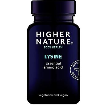 Higher Nature Lysine 500mg Vegetable Tablets 90 (LYS090)