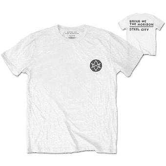 Bring Me The Horizon Distorted Official Tee T-Shirt Mens Unisex