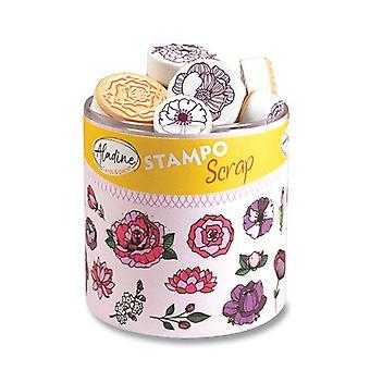 Aladine Stampo Scrap Floral