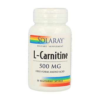 L-Carnitine 30 vegetable capsules of 500mg