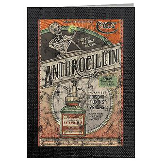 The Outer Worlds Anthrocillin Poster Greeting Card