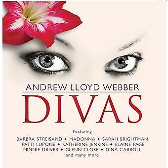 Andrew Lloyd Webber - Divas [CD] USA import