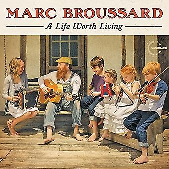 Marc Broussard - Life Worth Living [CD] USA import