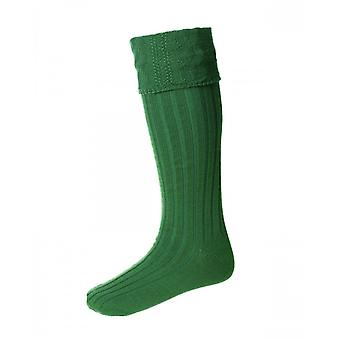 House of Cheviot Highland Hose Glenmore ~ Ancient Green