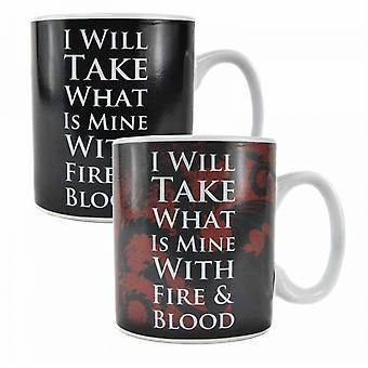 GOT  Daenerys Quote Heat Change Mug