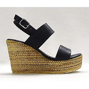 Zigi Soho Womens ZG17181-06 Leather Open Toe Casual Platform Sandals