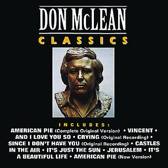 Don McLean - Classics [CD] USA import